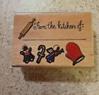FROM THE KITCHEN OF Rubber Stamp Westwater Enterprises Christmas BIN 1