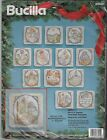 Bucilla Nativity  83045 Set of 12 Counted Cross Stitch Ornaments Kit New