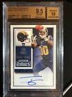 Todd Gurley Rams 2015 Panini Contenders Rookie Card RC BGS 9.5 Auto 10 (O)