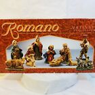 Vintage Romano Nativity Set 11 Pieces Christmas Figures each 3 to 5 Beautiful