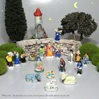 Vintage French Provence Feves Miniature Creche Santons Nativity Figurines 18 pcs
