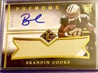 2014 Panini Limited Phenoms BRANDIN COOKS Jersey Rookie Patch Auto 199! RC! HOT!