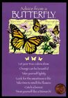 Advice from a Butterflies Flowers Inspirational Greeting Card NEW