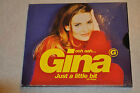 Gina .. Just A Little Bit Europe CD 1996  Like New
