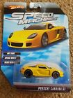 HOT WHEELS Speed Machines Porsche Carrera GT yellow DIECAST