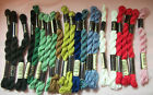 21 Skeins Assorted Colors ANCHOR PEARL COTTON 5g Embroidery Floss Germany