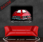 Vintage Classic Muscle Car Oldsmobile 442 24x36 HD Poster Print