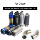 Motorcycle Exhaust Pipe for Ducati Monster 696 695 795 796 1100 Hypermotard 796