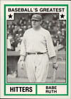 Babe Ruth Baseball Cards and Memorabilia Guide 12