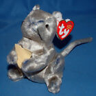 Ty Beanie Baby Cheddar - MWMT, Mouse