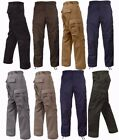 Rothco Military Tactical BDU Fatigue Pants Solid Color Sizes XS 2XL
