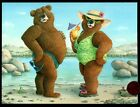 Anniversary Bears Ocean Cocktails By Jeffrey Severn Anniversary Greeting Card
