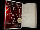 Amy Tan signed Where the Past Begins 1st printing hardcover book tipped in page
