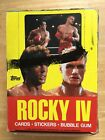1985 Topps Rocky IV Trading Cards Unopened Wax Box Vintage 36 Sealed Packs