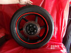HYOSUNG GT250R GT 250R EFI REAR WHEEL RIM W/ DISC & TIRE 2010 NICE