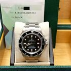 Rolex Sea Dweller 16600 Black Dial Stainless Steel Complete Box