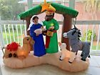 Inflatable Airblown Lighted Nativity Scene Christmas Indoor Outdoor 66