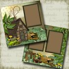 COZY CABIN 2 Premade Scrapbook Pages EZ Layout 3882
