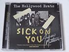 THE HOLLYWOOD BRATS - SICK ON YOU **SIGNED** DOUBLE 2 X CD ALBUM BRAND NEW