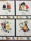 Vintage Rare Michael Miller Sally Look Panel Dick And Jane Quilt Cotton Fabric