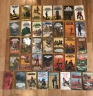 Lot Of 36 PB Books Western Louis LAmour Sacketts And Other Cowboy Fictions