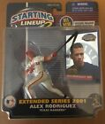 ALEX RODRIGUEZ 2000 Starting Lineup SLU Figure TEXAS RANGERS NEW IN PACKAGE NM