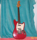 1964 Red Fender Mustang Pre CBS Electric Guitar Clay Dots original Rare July 64