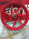Aprilia AF1 Sintesi Replica 125 Front Rim Wheel Red Ruota Ant 2.50X17 AP8108401