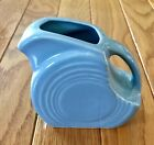 Fiestaware Periwinkle Blue Small Disc Pitcher