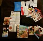 WEIGHT WATCHERS Weight Loss Introduction Kit Books Points Recipes Bag Guides