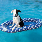Swimways Spring Float Paddle Paws Collapsible Swimming Pool Dog Float Small