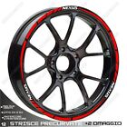 Stickers Trims Wheel Wheels Stickers Gilera Nexus 500 300 Red White