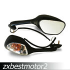 Mirrors Turn Siganals For Suzuki GSXR750 2006-2014 GSX-R 1000 2005-2014 05-14