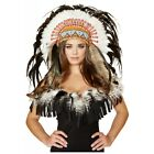 Indian Headdress Adult Native American Costume Accessory Halloween Fancy Dress
