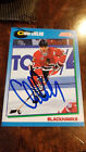 1991-92 SCORE SIGNED AUTO CARD CHRIS CHELIOS BLACKHAWKS CANADIENS RED WINGS 455