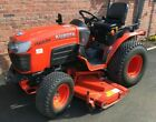 Kubota B2230 4WD Hydrostatic Drive Compact Tractor fitted with 60 mower deck