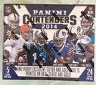 2014 PANINI CONTENDERS FOOTBALL SEALED HOBBY BOX 24 PACKS LOADED HOT SHIPS FAST