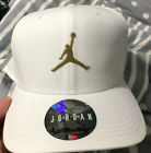 Air Jordan X OVO Cap classic 99 White gold Snapback Adjustable Hat RARE