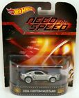 Hot Wheels 2014 Custom Mustang NEED FOR SPEED Retro Entertainment Real Riders