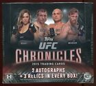 2015 Topps UFC Chronicles Trading Cards - Review Added 47