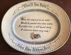 "Original 1954 ""What'll You Have?"" Pabst Blue Ribbon Beer Advertisement Plate"