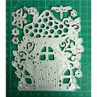 Knife Mold Fairy House Frame Metal Cutting Dies for DIY Scrapbooking Card Making