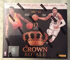 2017-18 PANINI CROWN ROYALE BASKETBALL SEALED HOBBY BOX 2 HITS PER BOX