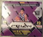 2017-18 PANINI PRIZM BASKETBALL SEALED HOBBY BOX WITH 2 AUTO'S 12 PACKS PER