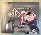 2011-12 SP GAME USED HOCKEY SEALED HOBBY BOX 6 PACKS 6 HITS PER BOX LOADED