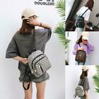 Women Casual Mini Adjustable Strap Square Multi layered Zipper Backpack LM