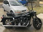 Harley Heritage Fatboy Softail Samson True Dual Exhaust Fishtails Evo 84 An Up