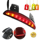 Red Led Motorcycle Turn Signals Tail Light Cafe Racer Rear Fender Edge Brake NEW