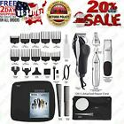 Wahl Pro Hair Cutting Kit Professional Barber Machine Clipper Haircut Trimmer