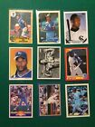 Bo Jackson Card Lot of 9 including Rookie Card